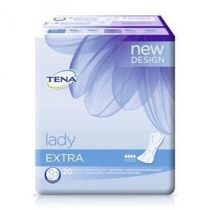 Wkładki anatomiczne Tena Lady Extra A'20